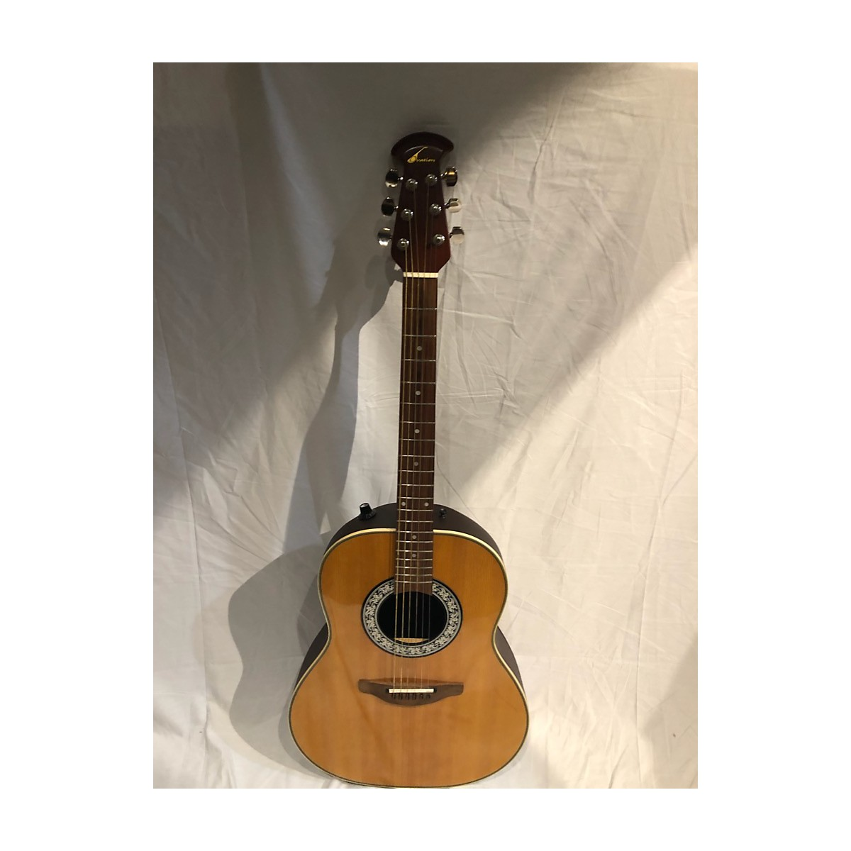 Ovation 1980s 1512 Acoustic Electric Guitar