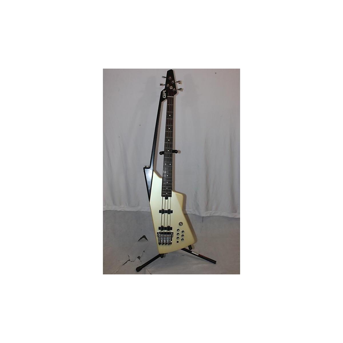 Roland 1980s 1980s Roland G77 Bass White W/ Controller Electric Bass Guitar