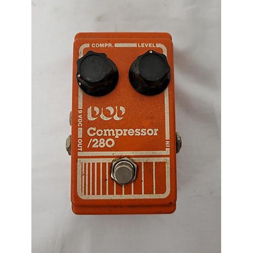 DOD 1980s 280 Compressor Effect Pedal