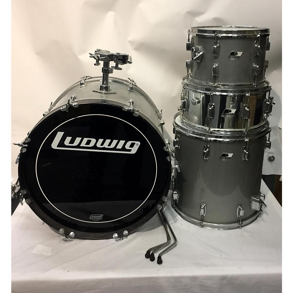 Ludwig 1980s 4 Piece Drum Kit