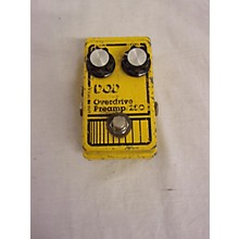 DOD 1980s Analog Overdrive Preamp 250 Effect Pedal