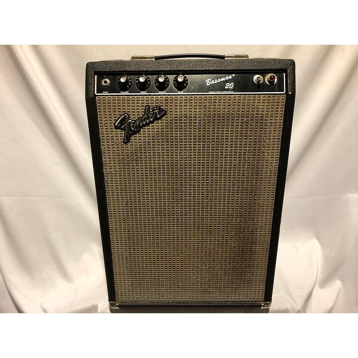 Fender 1980s Bassman 20 Tube Bass Combo Amp
