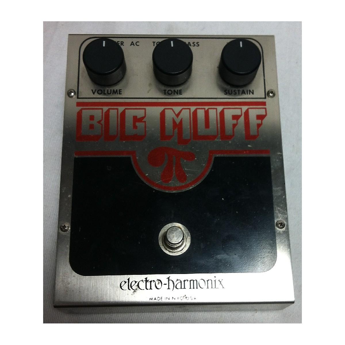 Electro-Harmonix 1980s Big Muff Distortion Effect Pedal