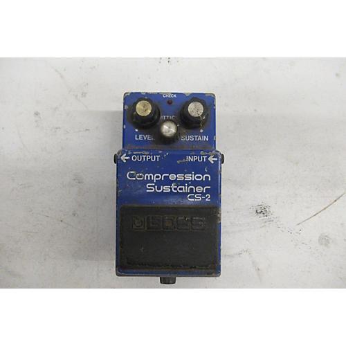 Boss 1980s CS2 Compressor Sustainer Effect Pedal