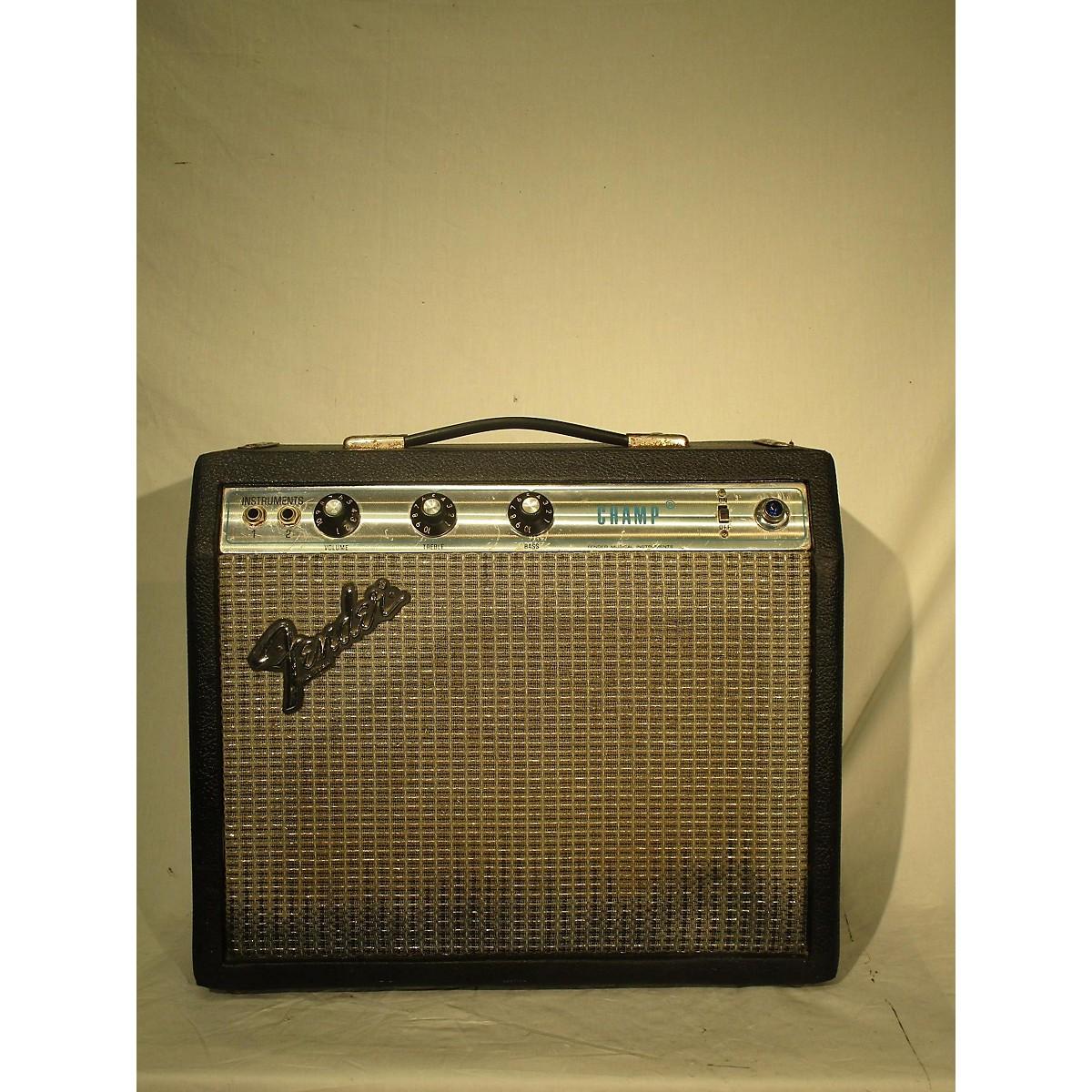 Fender 1980s Champ Tube Guitar Combo Amp