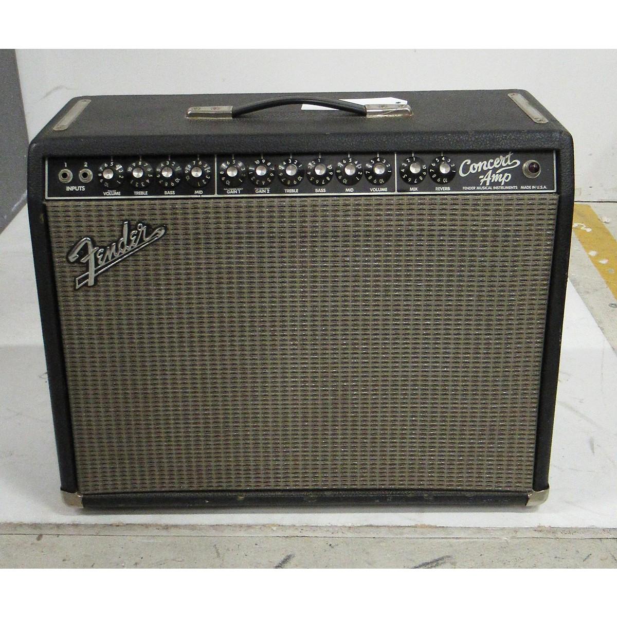 Fender 1980s Concert Amp Tube Guitar Combo Amp