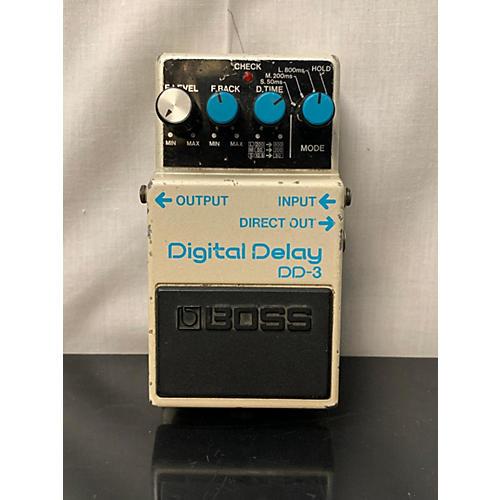 Boss 1980s DD3 Digital Delay Effect Pedal