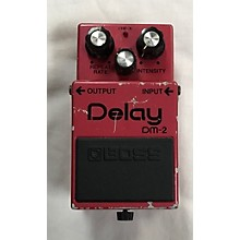 Boss 1980s DM-2 DELAY Effect Pedal