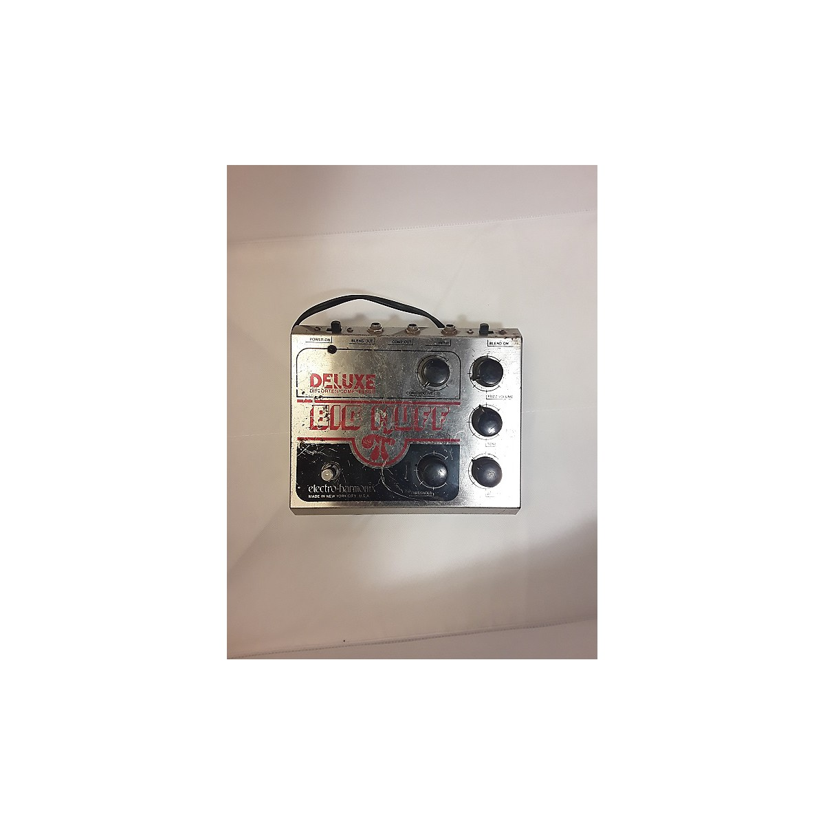 Electro-Harmonix 1980s Deluxe Big Muff Distortion Effect Pedal
