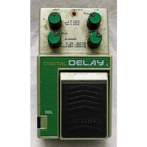 Ibanez 1980s Digital Delay Effect Pedal