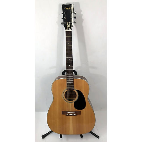 Airline 1980s Dreadnought Acoustic Guitar
