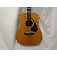 Yamaha 1980s Fg460s12 12 String Acoustic Guitar