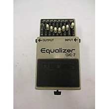 Boss 1980s GE7 Equalizer Pedal