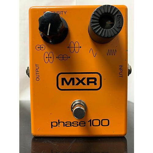MXR 1980s MXR Phase 100 Block Logo Effect Pedal