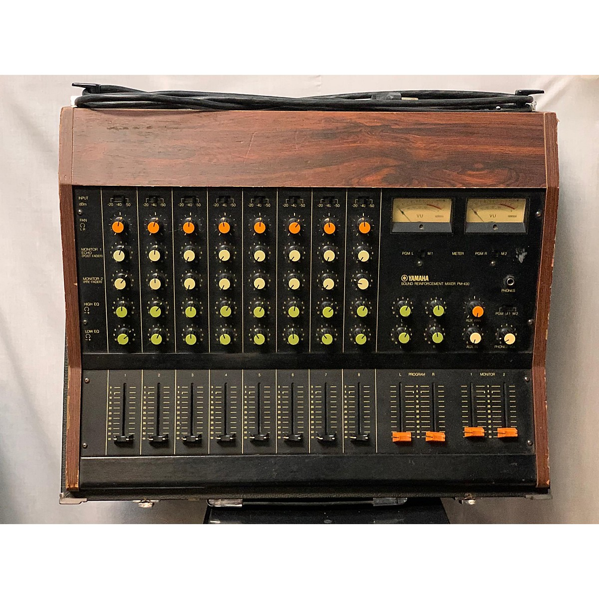 Yamaha 1980s PM430 Powered Mixer
