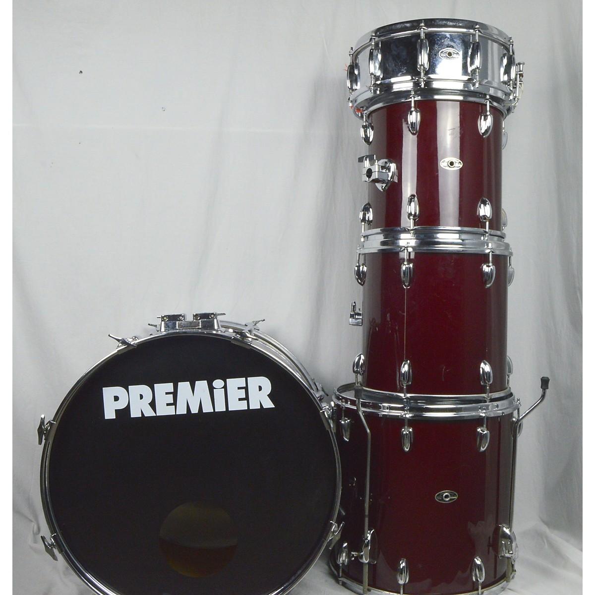 Slingerland 1980s Power Tom 4 Piece Shell Pack Drum Kit