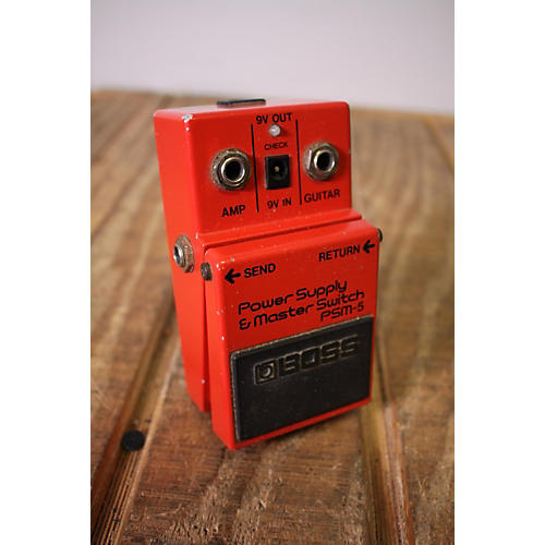 Boss 1980s Psm5 Guitar Power Amp