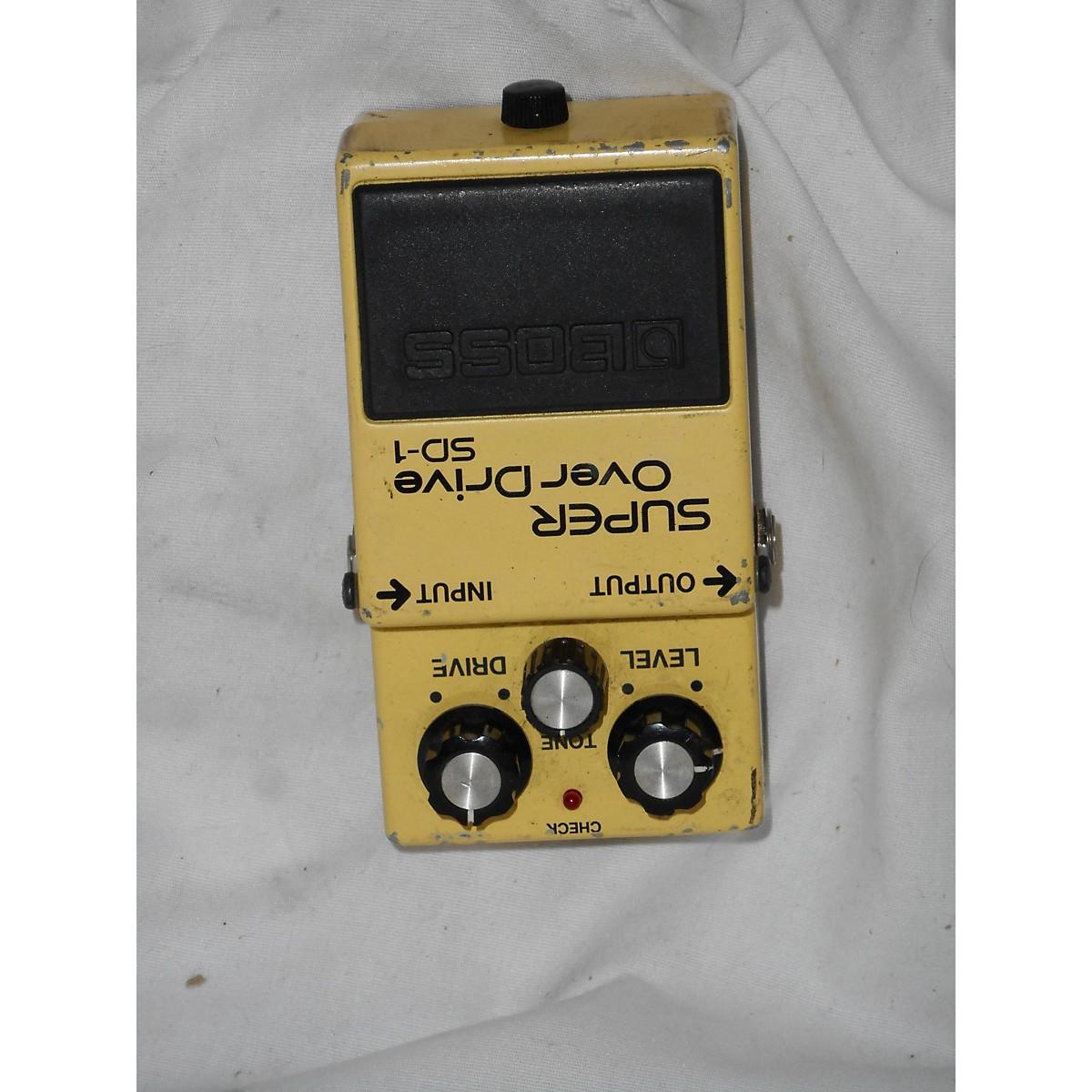 Boss 1980s SD-1 Effect Pedal