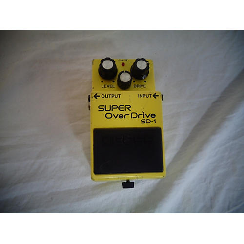 Boss 1980s SD1 Super Overdrive Effect Pedal