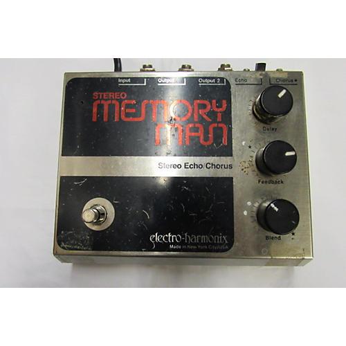 Electro-Harmonix 1980s Stereo Memory Man Effect Pedal