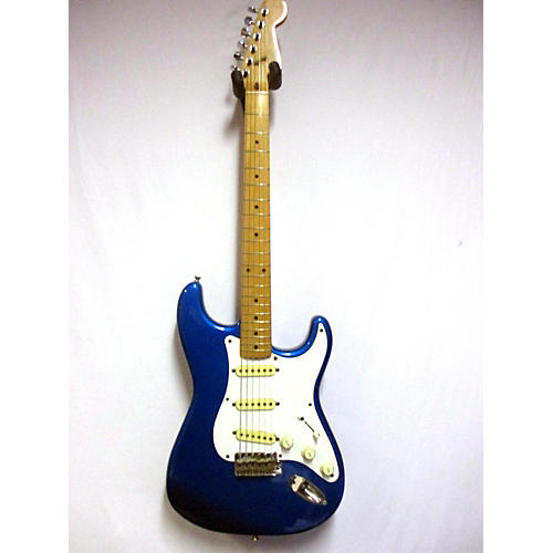 vintage squier 1980s stratocaster solid body electric guitar blue guitar center. Black Bedroom Furniture Sets. Home Design Ideas