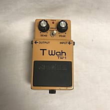 Boss 1980s TW1 T Wah Effect Pedal