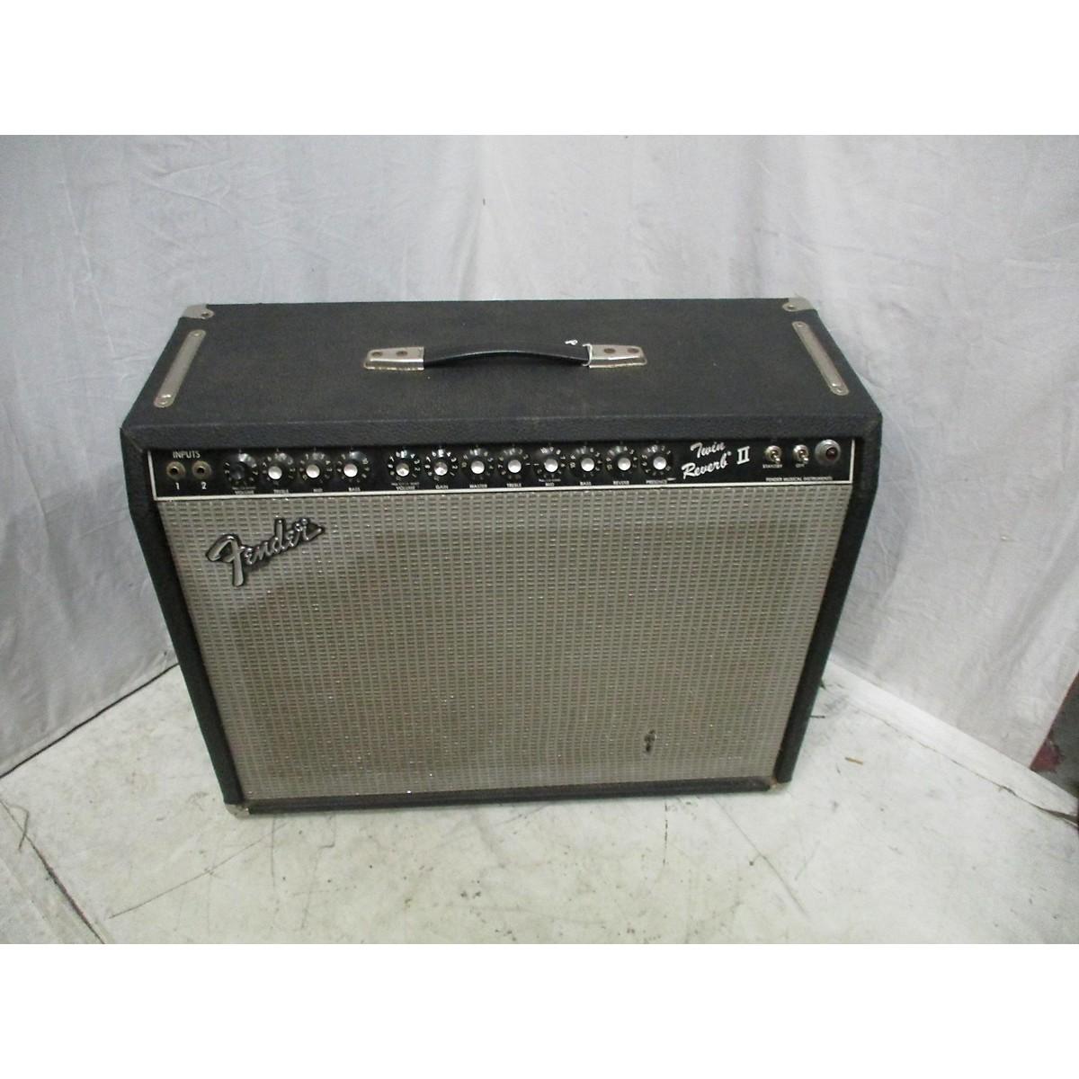Fender 1980s Twin Reverb II 2x12 Tube Guitar Combo Amp