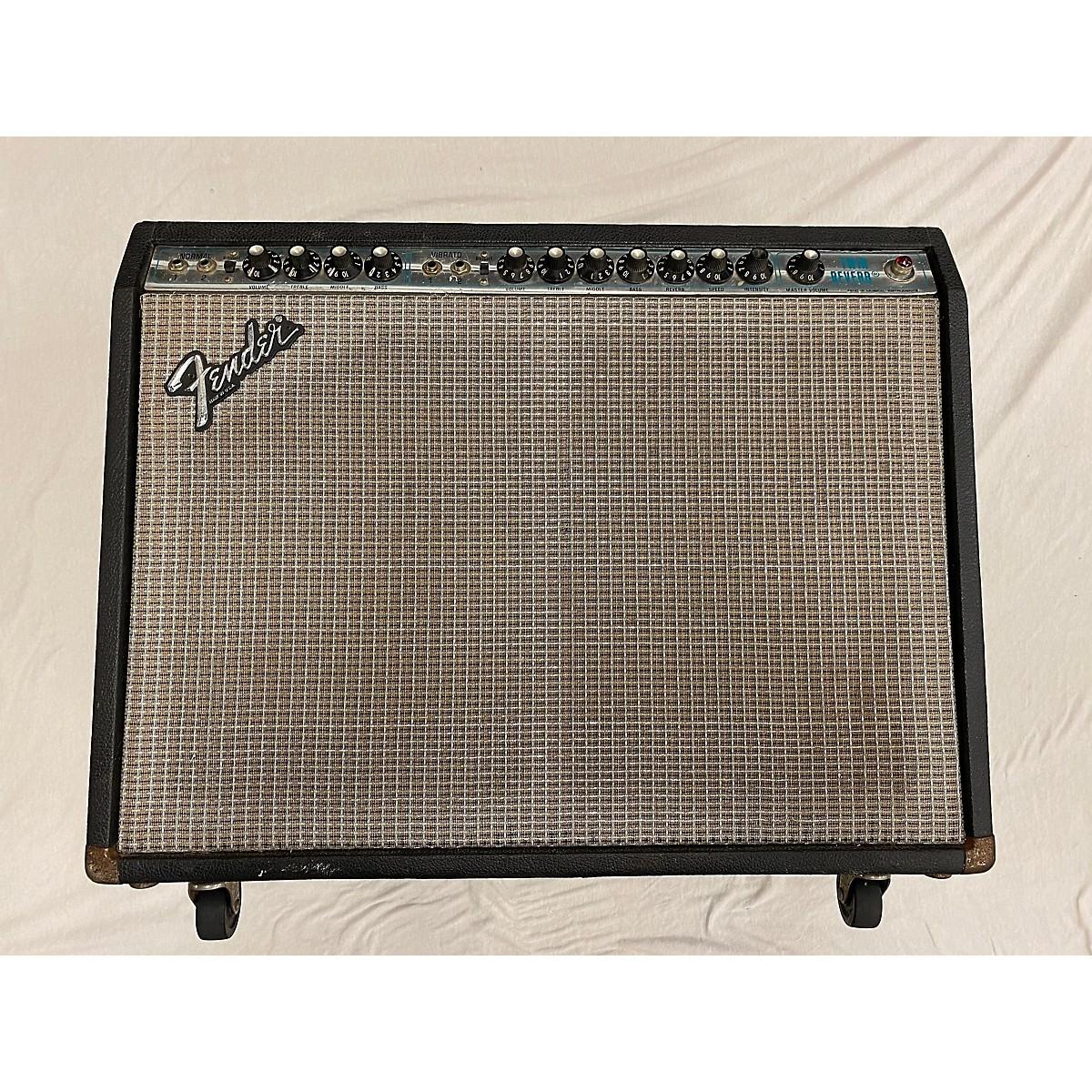 Fender 1980s Twin Reverb Master Volume Tube Guitar Combo Amp