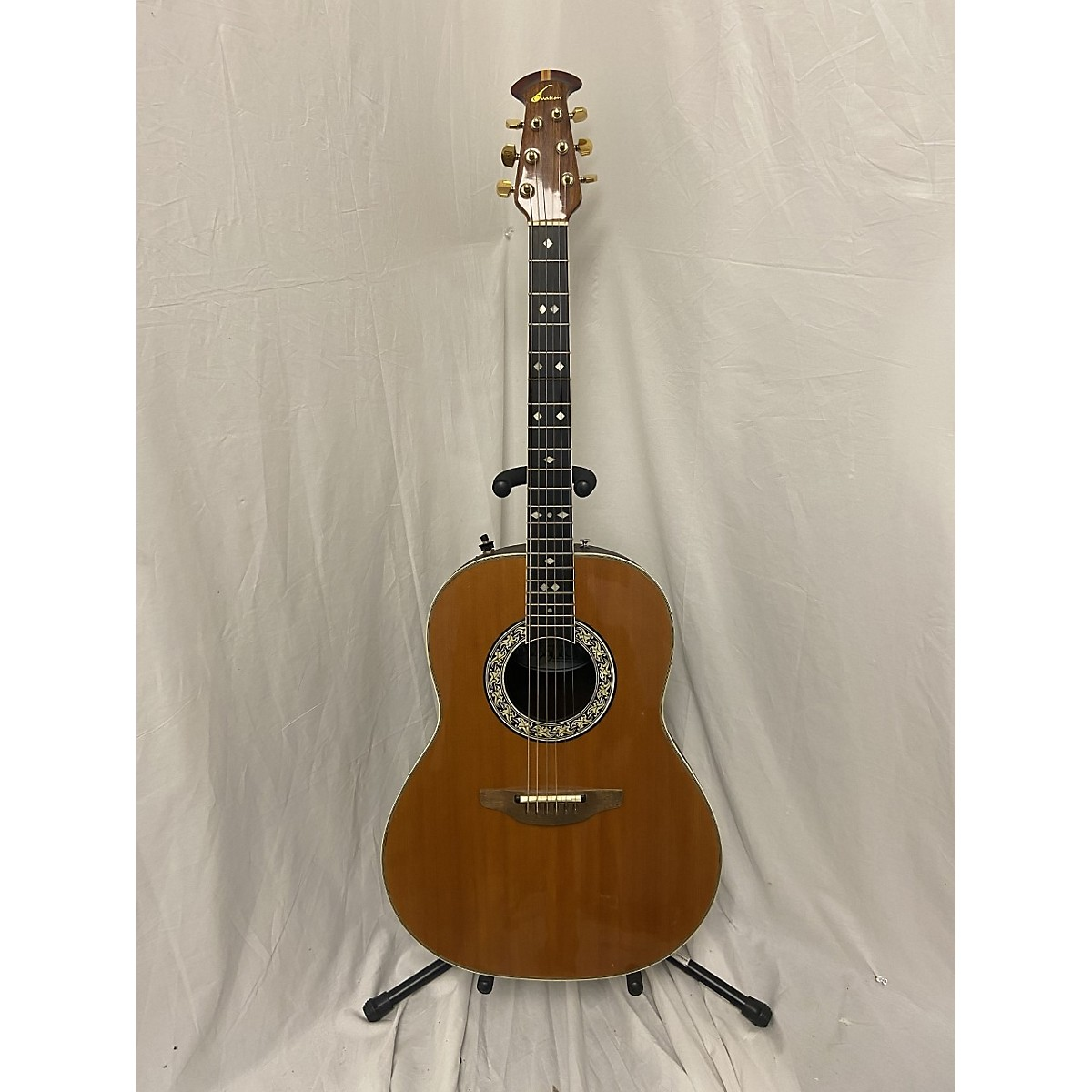 Ovation 1981 1617 Acoustic Electric Guitar