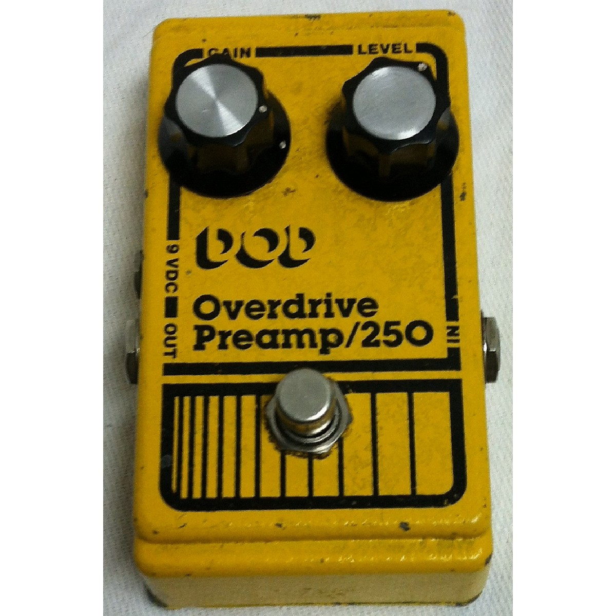 DOD 1981 Analog Overdrive Preamp 250 Effect Pedal