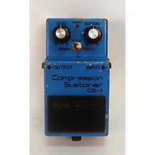 Boss 1981 CS-1 Effect Pedal