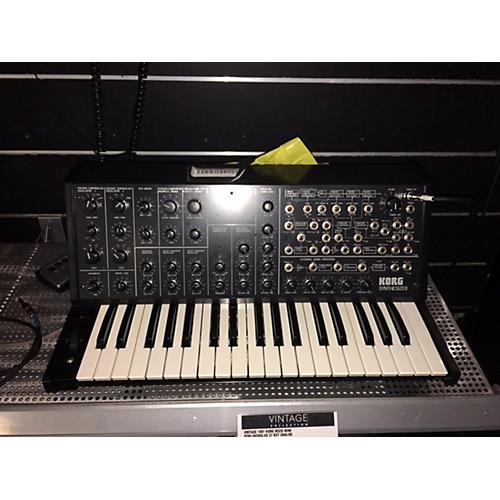 Korg 1981 MS20 Mini Semi-Modular 37 Key Analog Synthesizer