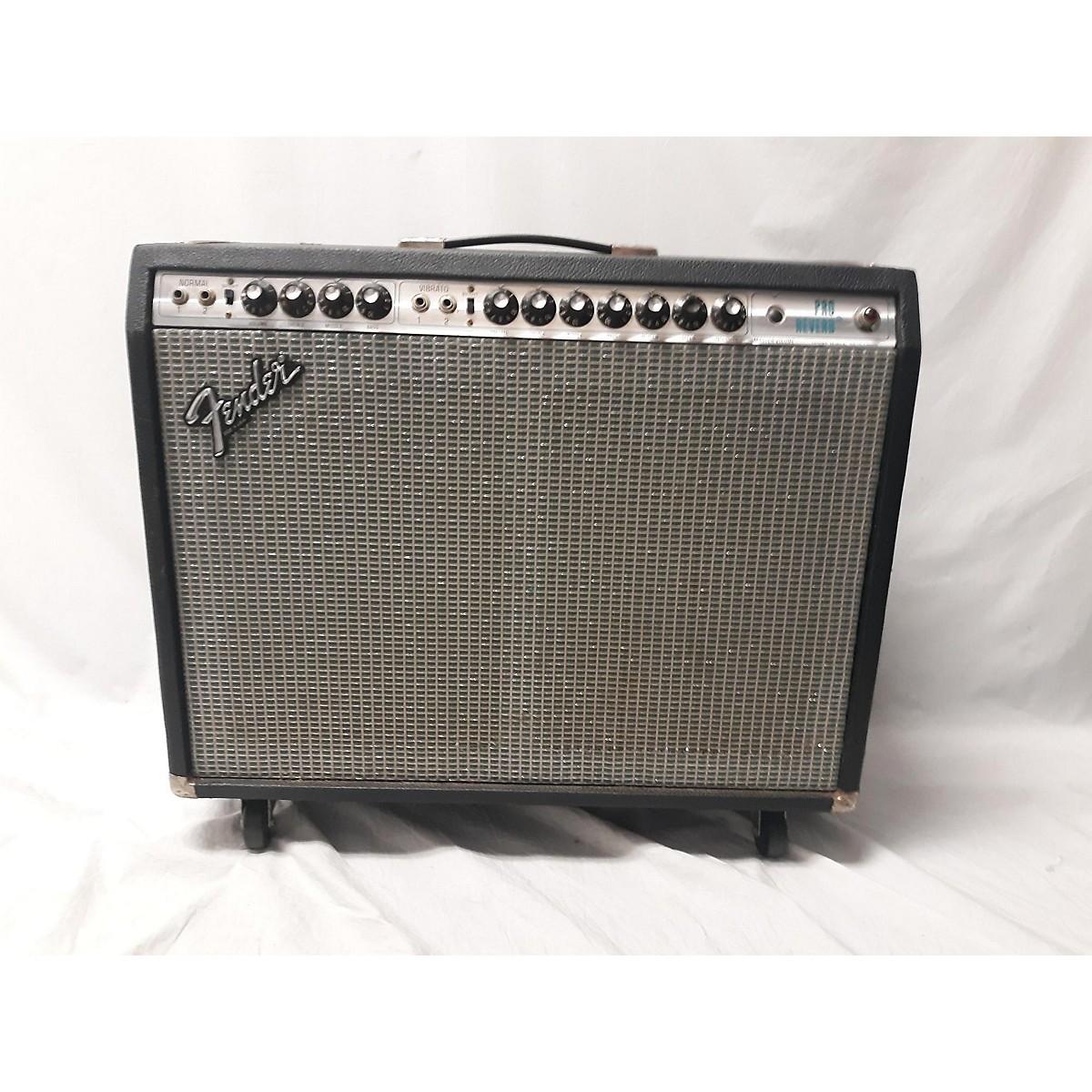 Fender 1981 Pro Reberb Tube Guitar Combo Amp