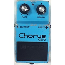 Boss 1982 CE2 Chorus Effect Pedal