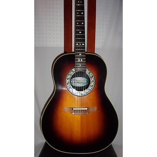 Ovation 1982 Custom Balladeer Acoustic Electric Guitar