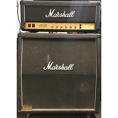 Marshall 1983 JCM -800 Model 2204 Head W/Cab Tube Guitar Amp Head
