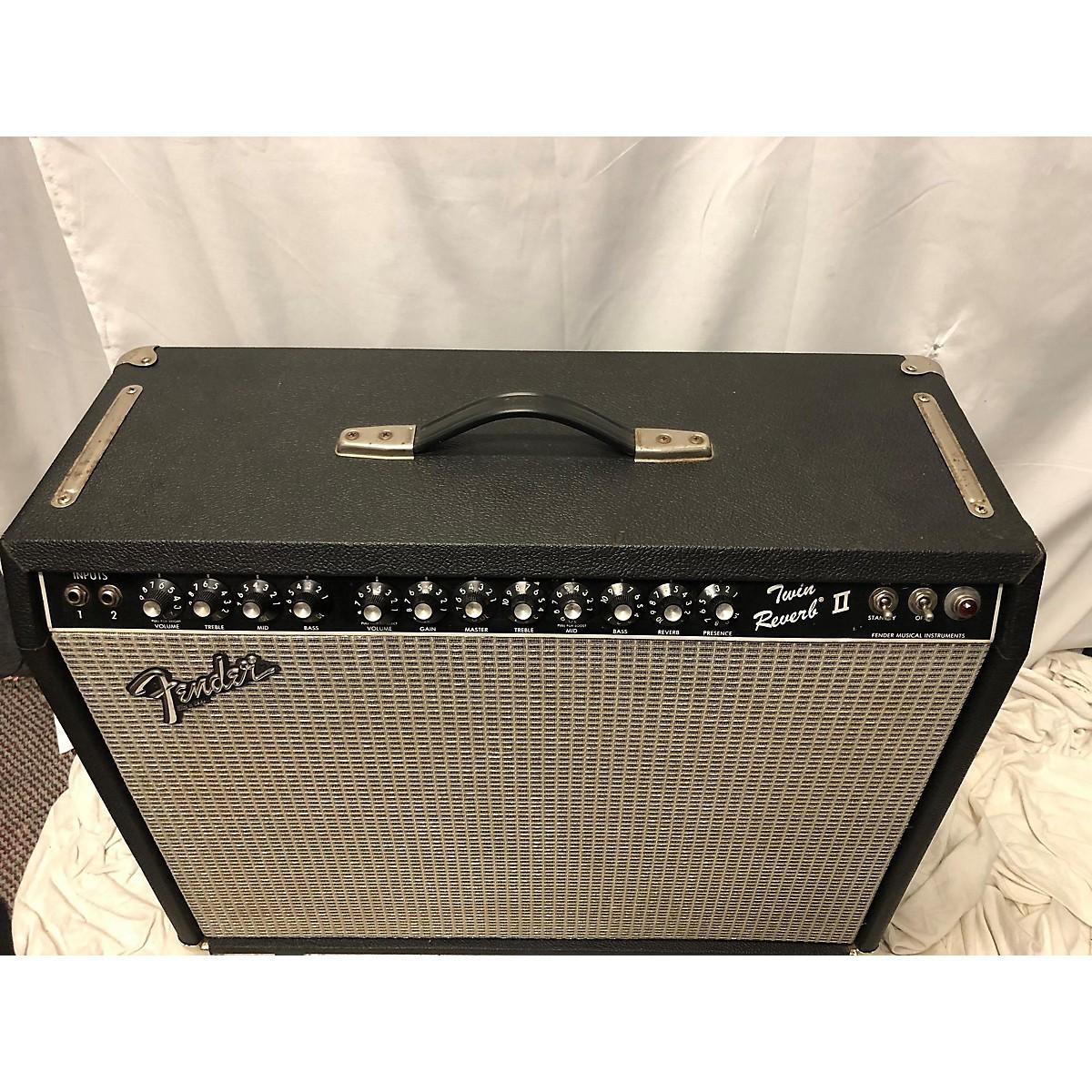 Fender 1983 Twin Reverb II Tube Guitar Combo Amp