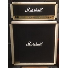 Marshall 1984 2205 JCM800 50W WHITE W/ MATCHING 4X12 Tube Guitar Amp Head