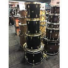 Slingerland 1984 Black Gold Drum Kit