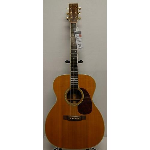 vintage martin 1985 m38 acoustic guitar natural guitar center. Black Bedroom Furniture Sets. Home Design Ideas