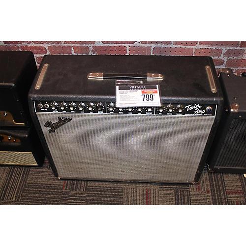 Fender 1985 Twin Reverb 2x12 Tube Guitar Combo Amp