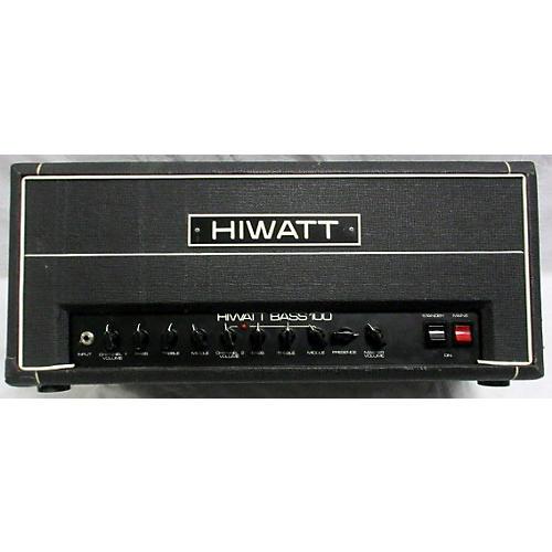 Hiwatt 1986 BASS100 Tube Bass Amp Head