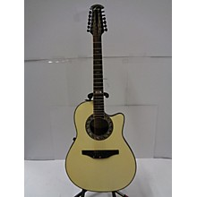 Ovation 1986 Collectors Series Model 2986 12 String Acoustic Electric Guitar