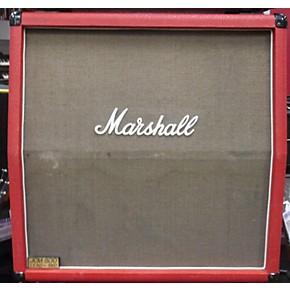 vintage marshall 1986 marshall 1960a 4x12 cab red guitar cabinet guitar center. Black Bedroom Furniture Sets. Home Design Ideas
