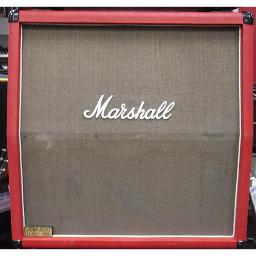 Marshall 1986 Marshall 1960A 4x12 Cab Red Guitar Cabinet