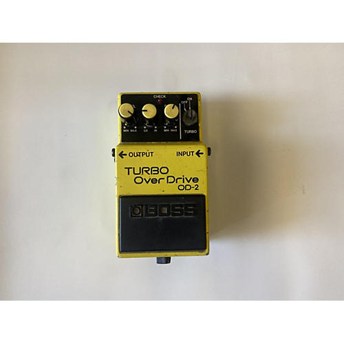 Boss 1987 OD2 Turbo Overdrive Effect Pedal