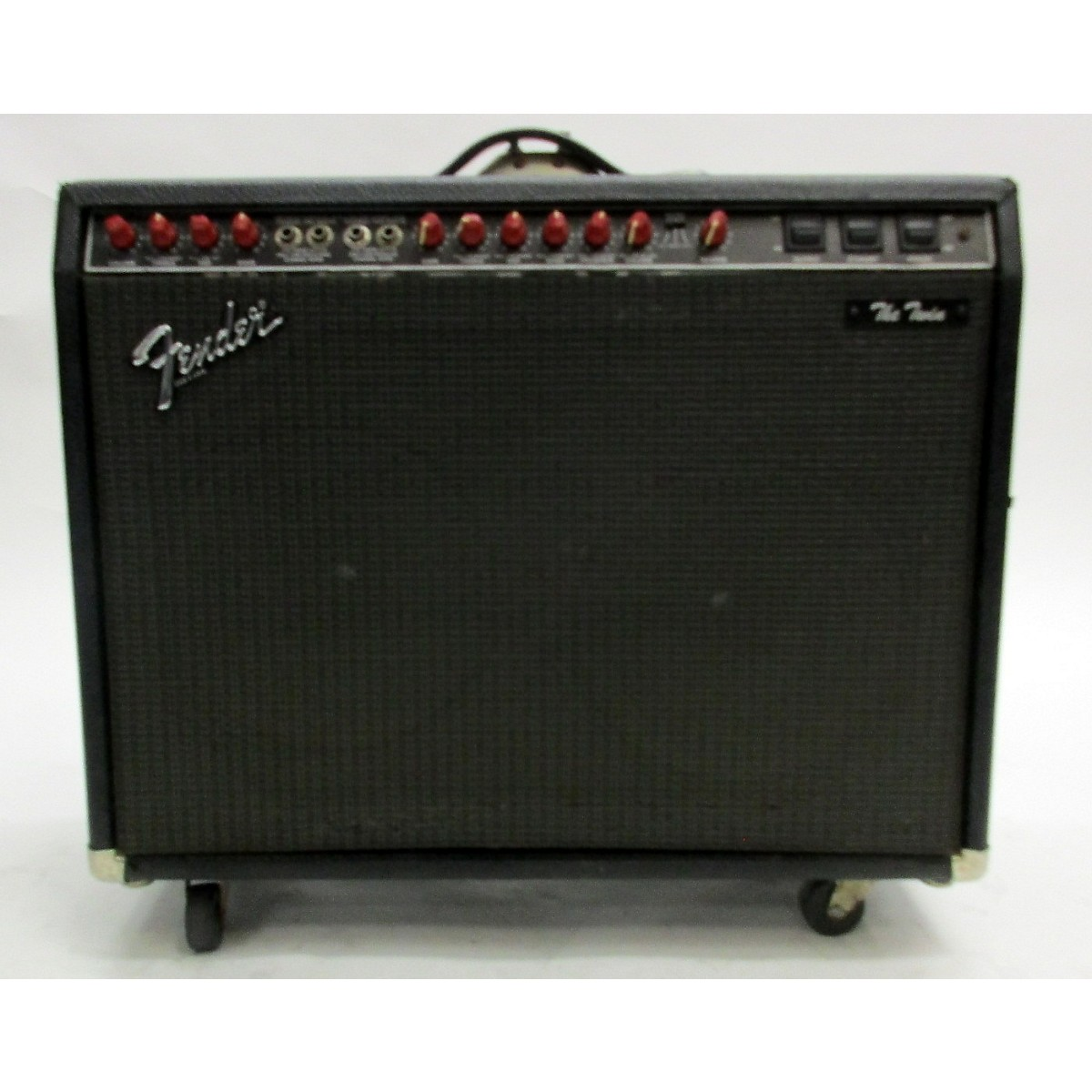 Fender 1987 The Twin Red Knob Tube Guitar Combo Amp