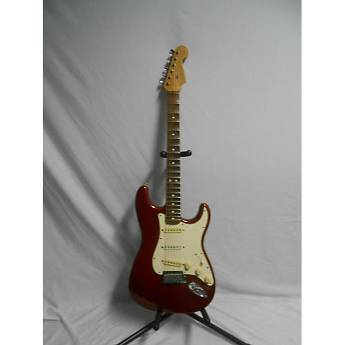 Fender 1989 Early Fender Malmsteen Strat Red RW Neck Solid Body Electric Guitar