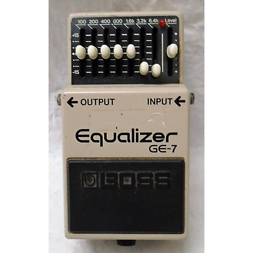 Boss 1990 GE7 Equalizer Pedal