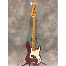 Fender 1990 PRECISION RED OHSC Electric Bass Guitar